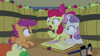 "Apple Bloom ""act like apples!"" S7E8"
