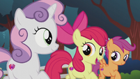 Apple Bloom singing -more than just a mark- S5E18
