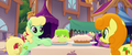 Apple Honey and Golden Harvest prepare snacks MLPTM.png