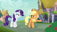 "Applejack ""that's fine if she doesn't like 'em!"" S7E9"