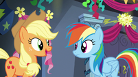 Applejack --can't wait to hear all about it-- S6E7