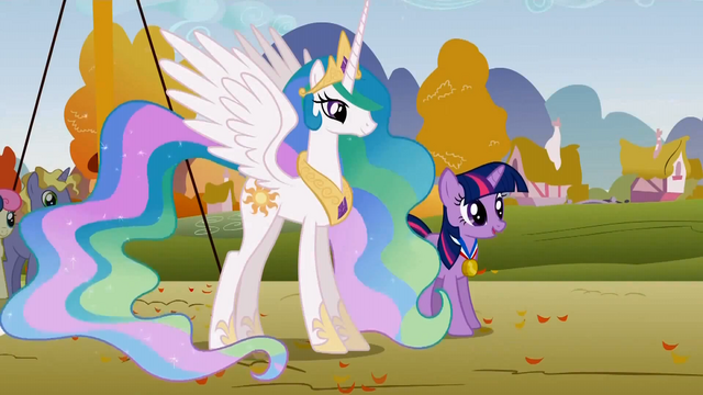 File:Celestia and Twilight looking on S1E13.png