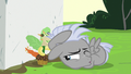 Chipcutter cracks one eye open S7E6.png
