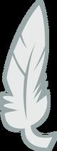 Feather cutie mark by rildraw-d48yrin