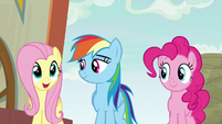 """Fluttershy """"I'd get to be in anything"""" S9E6"""
