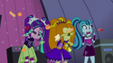 Foods thrown at the Dazzlings EG2