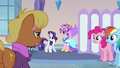 Ms Harshwhinny talking to Princess Cadance S3E12.png