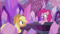 Pinkie Pie -gets to raise the flag!- S5E20
