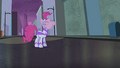 Pinkie Pie eating the cake S4E06.png
