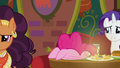 Pinkie eating her food face-first again S6E12.png