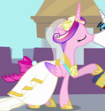 Princess Cadance wedding dress ID S2E26
