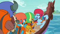 "Rainbow Dash ""now stroke!"" S8E9"