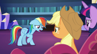 "Rainbow Dash ""should've just eaten the pies"" S7E23"