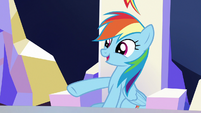 Rainbow Dash --you are a totally different pony-- S6E25