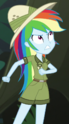 Rainbow Dash jungle adventurer ID EGS1
