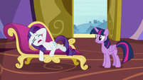 "Rarity ""spend any time with me at all!"" S9E19"