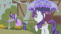 Rarity it's raining S01E03