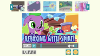 Reboxing with Spike! title card EGDS28