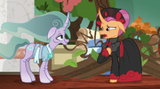 "Sable Spirit ""you did this for me?"" S7E16"
