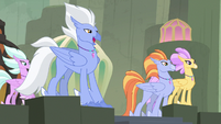 Sky Beak invites Twilight to screeching competition S8E6