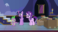 Spike --we don't all have magical horns-- S6E25