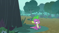 Spike has a brief moment of relief S8E11