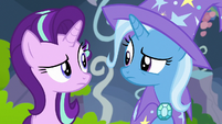 Starlight and Trixie confused about the feelings forum S7E17