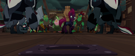 Tempest hears the ponies scream below deck MLPTM