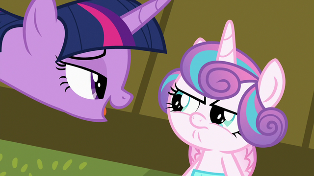 "File:Twilight telling Flurry ""not right now"" S7E3.png"