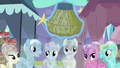 Watching ponies are rejuvenated by Rarity S3E2.png