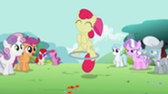 201px-Apple Bloom using the hoop with one hoof S2E6