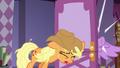 Applejack opens door in Twilight's face S7E14.png