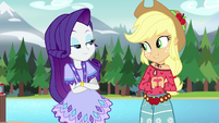 Applejack wants to keep her bohochic outfit EG4