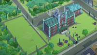Crystal Prep Academy overhead exterior EG3