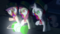 Cutie Mark Crusaders turning into zombies S6E15.png