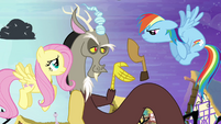 "Discord ""only one cloven hoof"" S4E01"