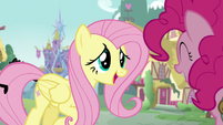"Fluttershy ""You were in such a rush earlier"" S5E19"