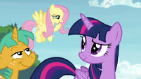 "Fluttershy ""that is sort of true"" S9E15"