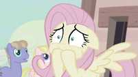 Fluttershy closes her mouth S5E02