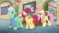 Fluttershy disapproves of her parents' idea S6E11.png