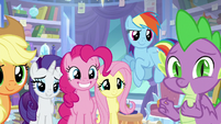 Main ponies have faith in Twilight S9E25