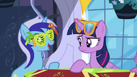 Minuette -starting to come out of her shell- S5E12