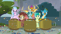 Ocellus impressed by the Mane Six S8E2
