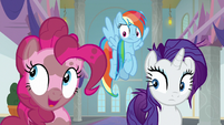 "Pinkie Pie ""all those eyeless worm creatures"" S8E15"