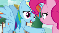 "Rainbow Dash ""you gotta be more careful"" S7E23"