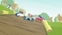 Rainbow Dash and Scootaloo in the lead S6E14