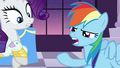 Rainbow almost about to spit onto her hoof S5E15.png