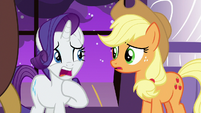 "Rarity ""it could be devastating!"" S9E17"
