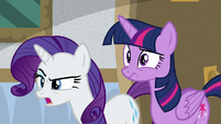 "Rarity ""we have to investigate!"" S8E16"