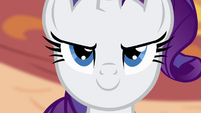 Rarity confident face S4E01